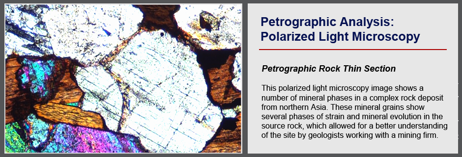 Petrographic Analysis